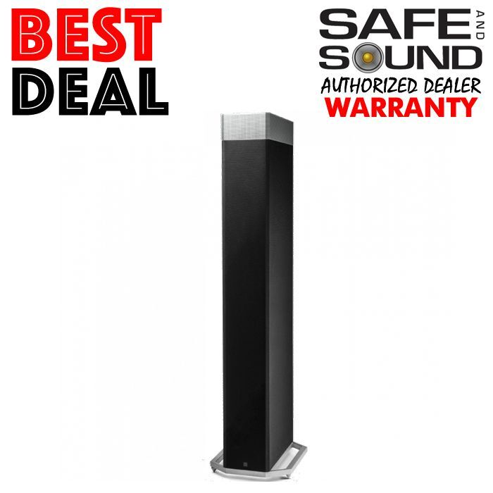 "Definitive Technology High-Performance 12"" 3-way Tower Speaker (Each) Black BP-9080ST"