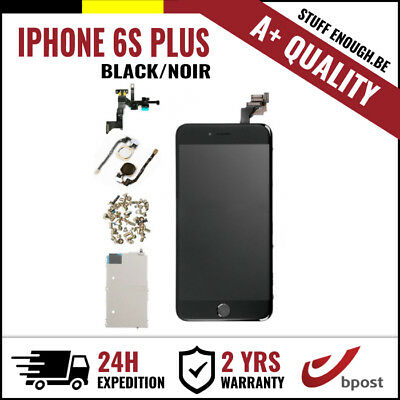 A+ LCD TOUCH SCREEN DIGITIZER SCHERM ÉCRAN ASSEMBLY BLACK NOIR IPHONE 6S PLUS