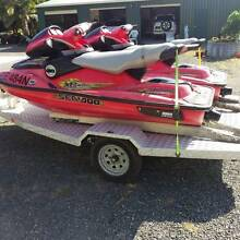 Sea-Doo Bombardier XP Jet ski's x 2 complete with  trailer Forster Great Lakes Area Preview