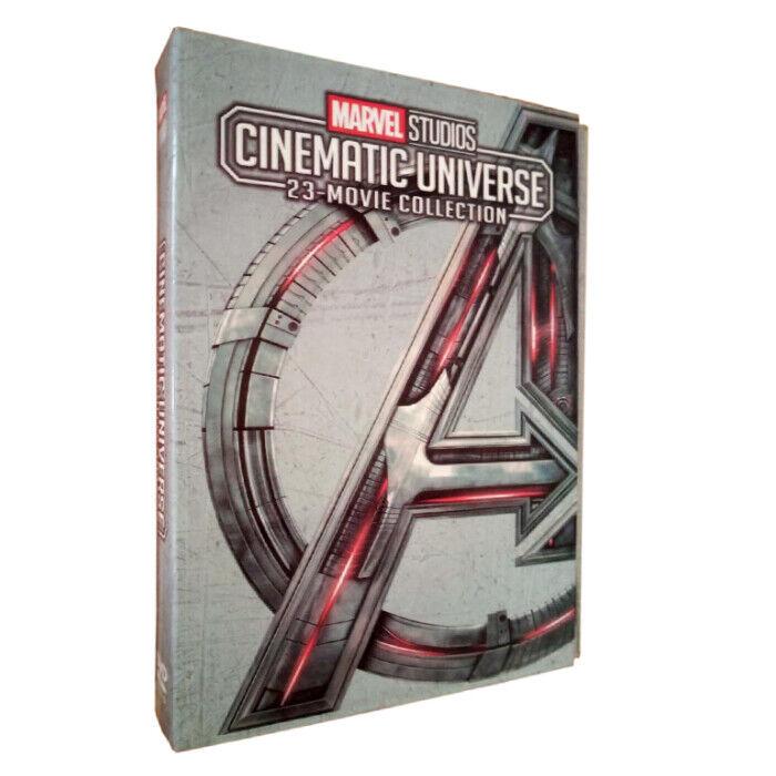 MARVEL STUDIOS CINEMATIC UNIVERSE 23-MOVIE COLLECTION 12-Disc DVD US Region 1