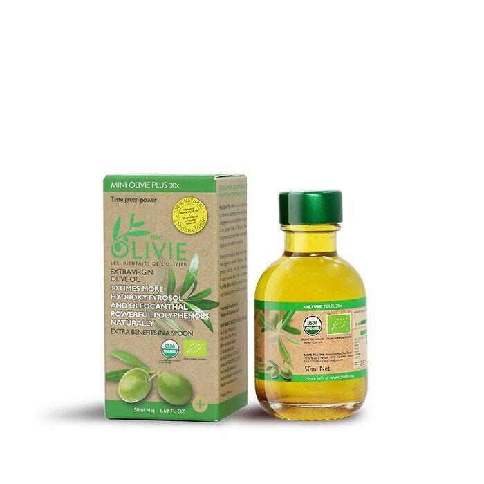 OLIVIE PLUS 30X Extra Virgin Olive Oil Cold Pressed Powerful