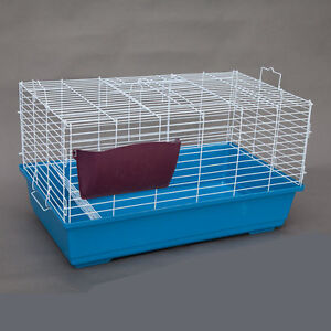 Flyline Bunny Hotel 80 Rabbit Guinea Pig Chinchilla Cage with Big Tray