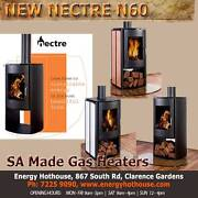 NEW N60 MODERN NECTRE WOOD HEATERS Clarence Gardens Mitcham Area Preview