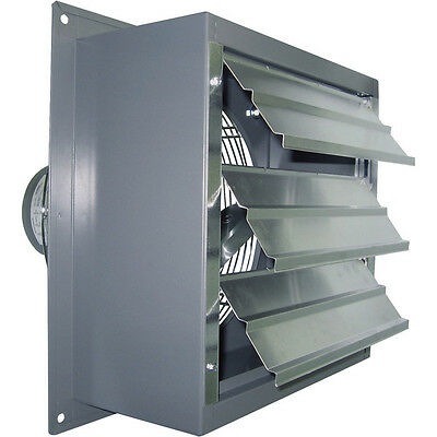 16 Wall Exhaust Fan - 13 Hp - Variable Speed - 2370 Cfm - 115230v - 1700 Rpm