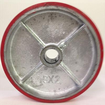 Heavy Duty 8 X 2 Polyurethane Wheel