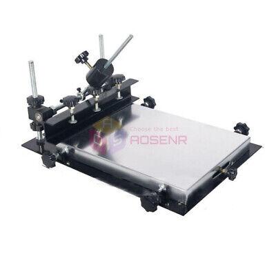 440x320mm Manual Solder Paste Printerpcb Smt Stencil Printer T-shirt Printing