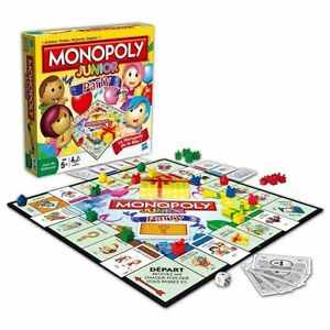 New. Monopoly game (Party edition).  Made fun & simple for kids