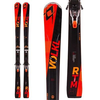 Volkl RTM 81 177cm Skis with Marker WR XL 12.0 Bindings 2016 NEW