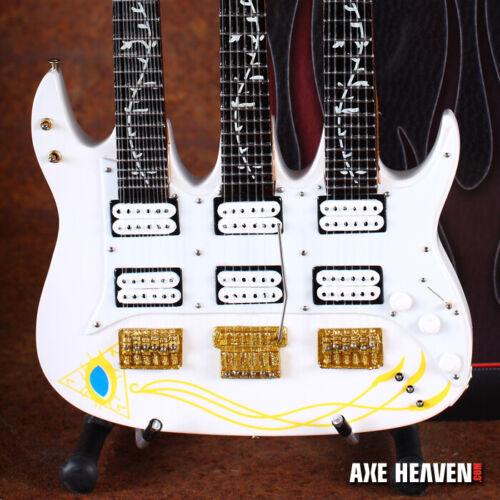 Steve Vai JEM Triple-Neck Guitar Collectible Mini Guitar Replica