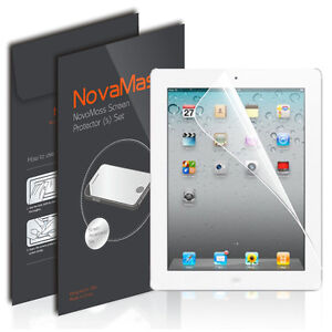3X Anti Glare Matte Screen Protector Cover Guard Film For Apple iPad 2/3/4