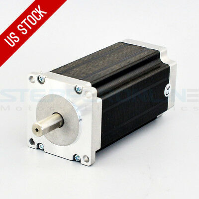 US Ship High Torque 3Nm(425oz.in) Nema 23 Stepper Motor CNC Mill Lathe Router