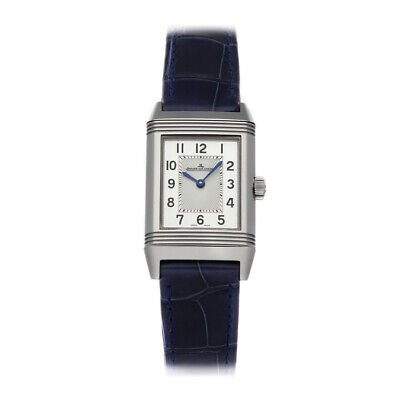 Jaeger-LeCoultre Reverso Classic Small Manual Steel Mens Strap Watch Q2608440