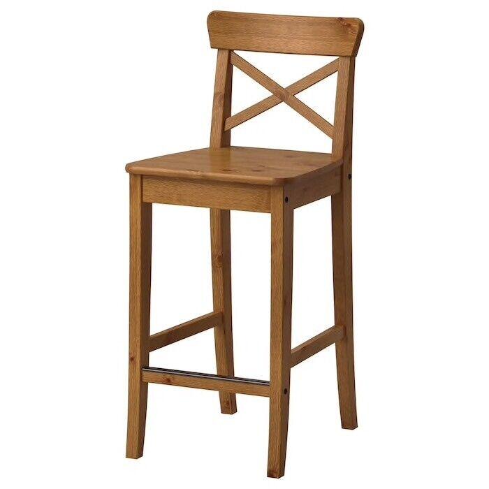 Pleasant Ikea Ingolf Bar Stool Oak Stain New In Perth Perth And Kinross Gumtree Cjindustries Chair Design For Home Cjindustriesco