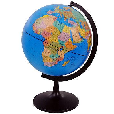 Edu Science G2807 28cm World Globe -  Swivel Map Globe for Children and Adults