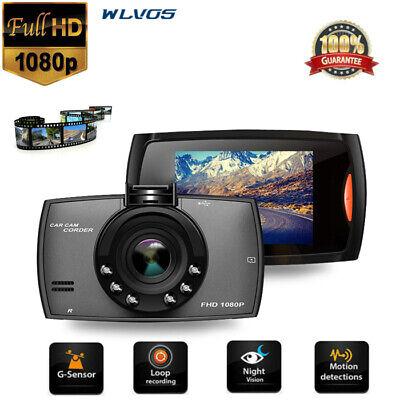 "HD 2.2"" LCD 1080P Car DVR Vehicle Camera Video Recorder Dash Cam Night Vision US"
