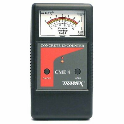 cme4 concrete encounter 4 moisture meter