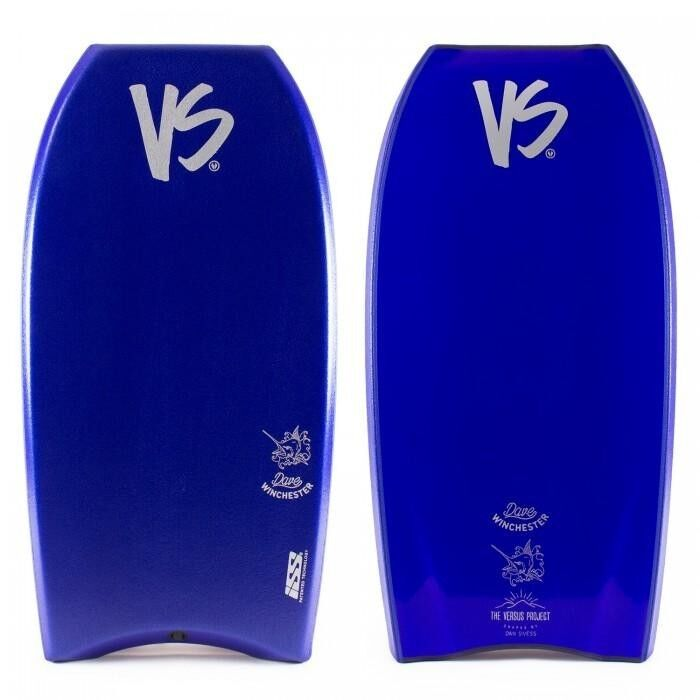 VS Dave Winchester Kinetic PP ISS Bodyboard Blue Deck Blue S