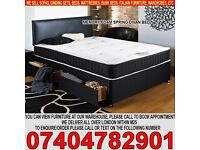 BRAND NEW Single/Small Double/Kingsize Luxury Memory Ortho Divan Bed Base and Mattress