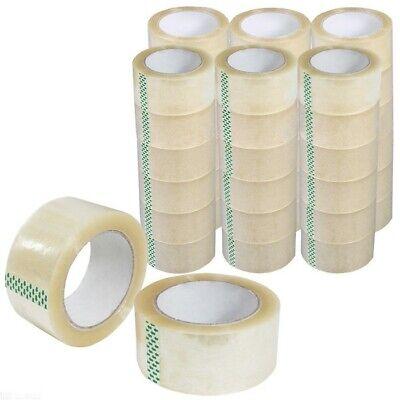 72 Rolls Clear Pcking Tape 110 Ya 36 Rolls Carton Sealing Tape 2mil 330 Ft