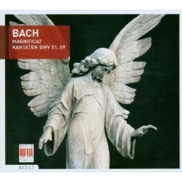 "THOMAS/GIEBEL/HÖFFGEN/THOMANERCHOR ""BACH,J.S.-KANTATEN,MAGNIFICAT""  CD NEU"