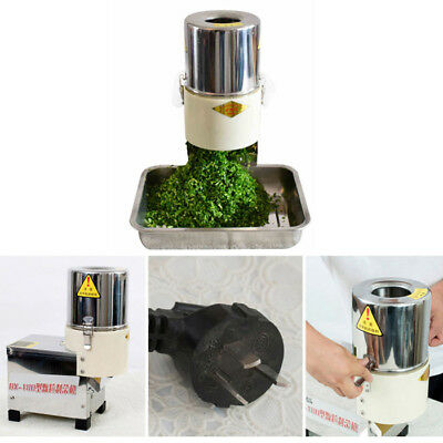 Electric Vegetable Food Chopper Commercial Cutting Machine 220W 100kg / h 220V