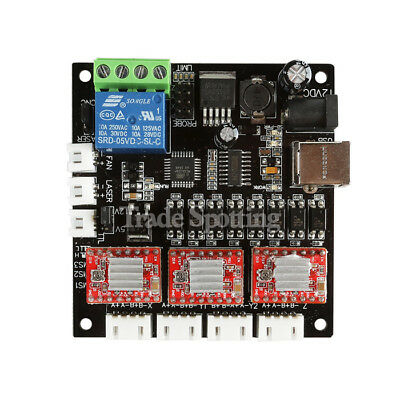 3 Axis Usb Grbl Usb Driver Controller Board For Laser Cnc Engraving