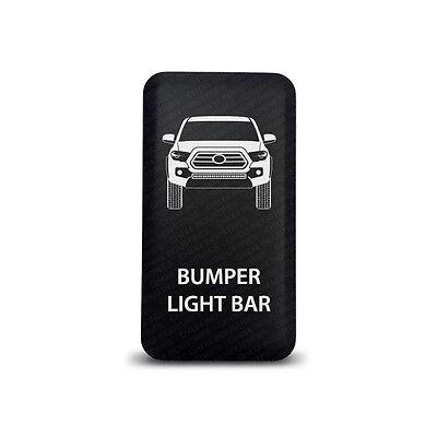 CH4x4 Toyota Push Switch Tacoma 3rd Gen  Bumper Light Bar Symbol 2 - Blue  LED