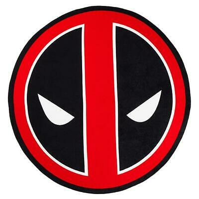 "Marvel Deadpool 50"" Round Beach Towel"