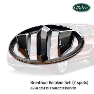Brenthon Emblem Set (7 spots)  for KIA 2016 2017 2018 2019 SORENTO