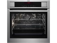 AEG multi function steam oven