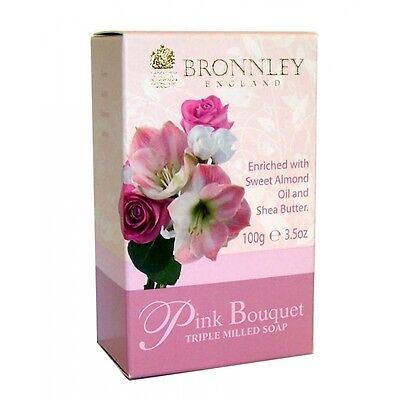 Bronnley Pink Bouquet Triple Milled Soap 100g  ()