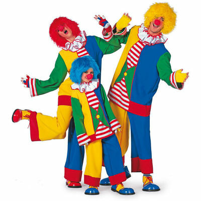 Damen-Kostüm Clown Clownskostüm Zirkus