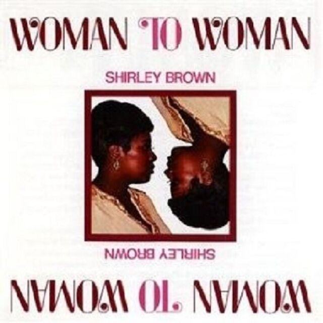 "SHIRLEY BROWN ""WOMAN TO WOMAN (STAX REMASTERS)"" CD NEU"