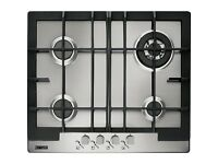 Zanussi ZGG66424XA Stainless Steel Gas Hob (New and boxed)
