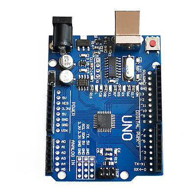 ATmega328P CH340G UNO R3 Board + USB Cable Compatible with Arduino