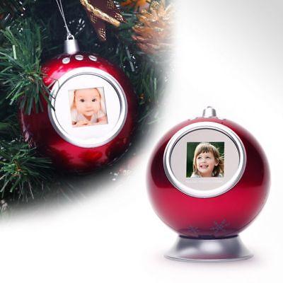 Lote De 3x - Bola de Navidad Digital Rojo Para Abeto –...