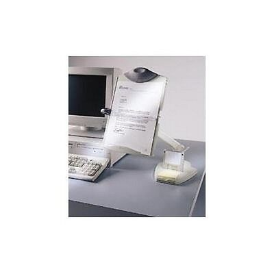 FELLOWES 21125 PREMIER FLEX ARM COPY HOLDER with WEIGHTED BASE-12 lbs.
