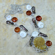 Amber Fossil Necklace