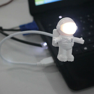 Creative Astronaut USB LED Light Lamp Laptop Desktop Computer Accessory