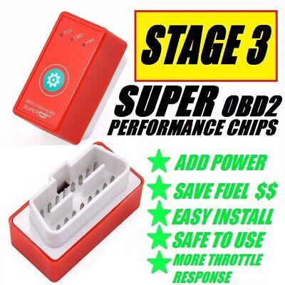SUPER OBD2 PERFORMANCE CHIP ALL ISUZU ASCENDER 2003-2008 ADD POWER & SAVE FUEL