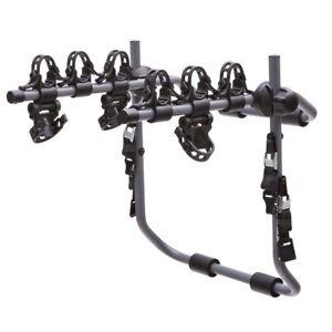 Sportrack trunk-mounted 3-bike carrier