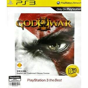 PS3: God of War 3 - The Best (English and traditional Chinese)