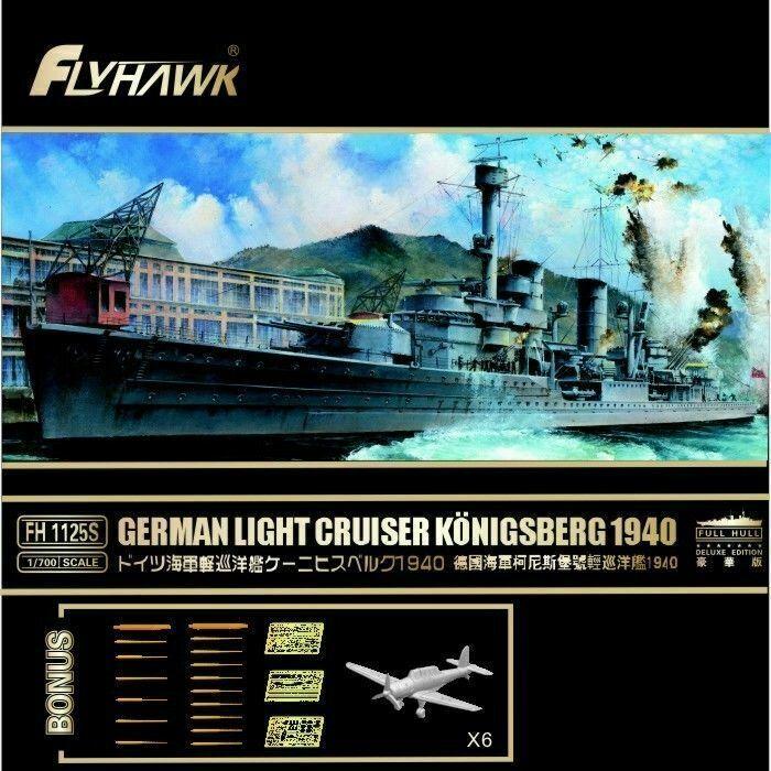 1//700 FLYHAWK CHINESE LIGHT CRUISER CHUNGKING