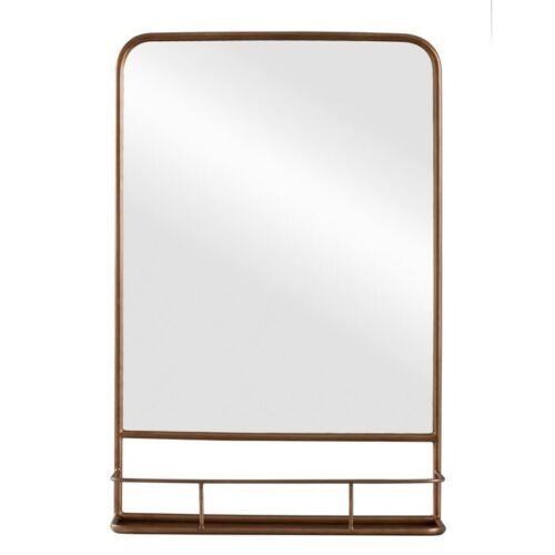 "THRESHOLD Metal Pharmacy Mirror | 20"" x 30"" | Brass | 🆕"
