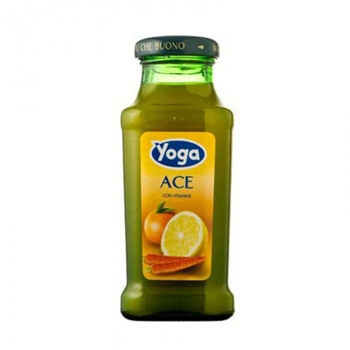 Deal Gastronomia eBay.it Yoga Ace Cl20 X24 Bottigliette Vetro Succo Di Frutta Gusto Ace
