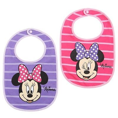 Lot de 2 bavoirs MINNIE