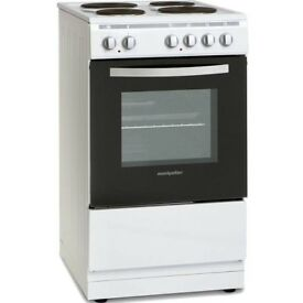BRAND NEW Electric cooker. Montpellier MSE49W. Still in original packaging