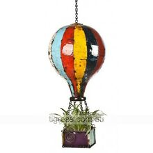 EEIEEIO Hot Air Balloon Outdoor Metal Planter Sculpture Large Castle Hill The Hills District Preview