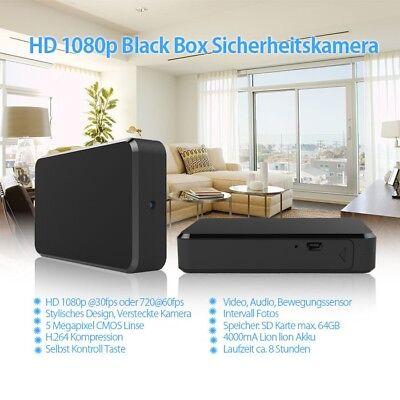 Full HD Blackbox eingebaute versteckte Überwachungskamera DashCam mit Mikrofon