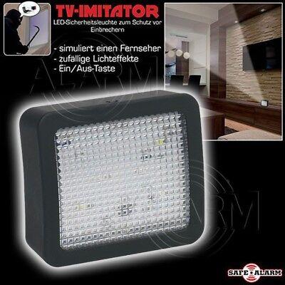 LED Fernseh Simulator TV Einbruchschutz Home Security Attrappe Fake-TV Dummy 6 s